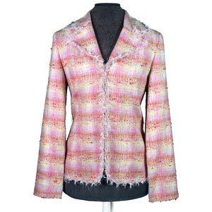Doncaster Silk Blend Tweed Blazer
